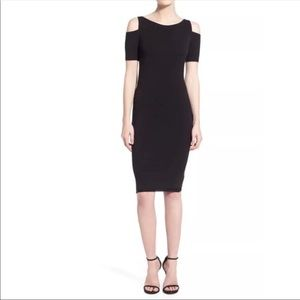 Bailey 44 Deneuve Cold Shoulder Body Con Dress